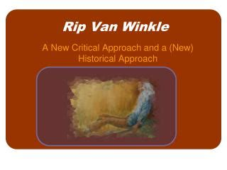 Rip Van Winkle Summary & Analysis from LitCharts The